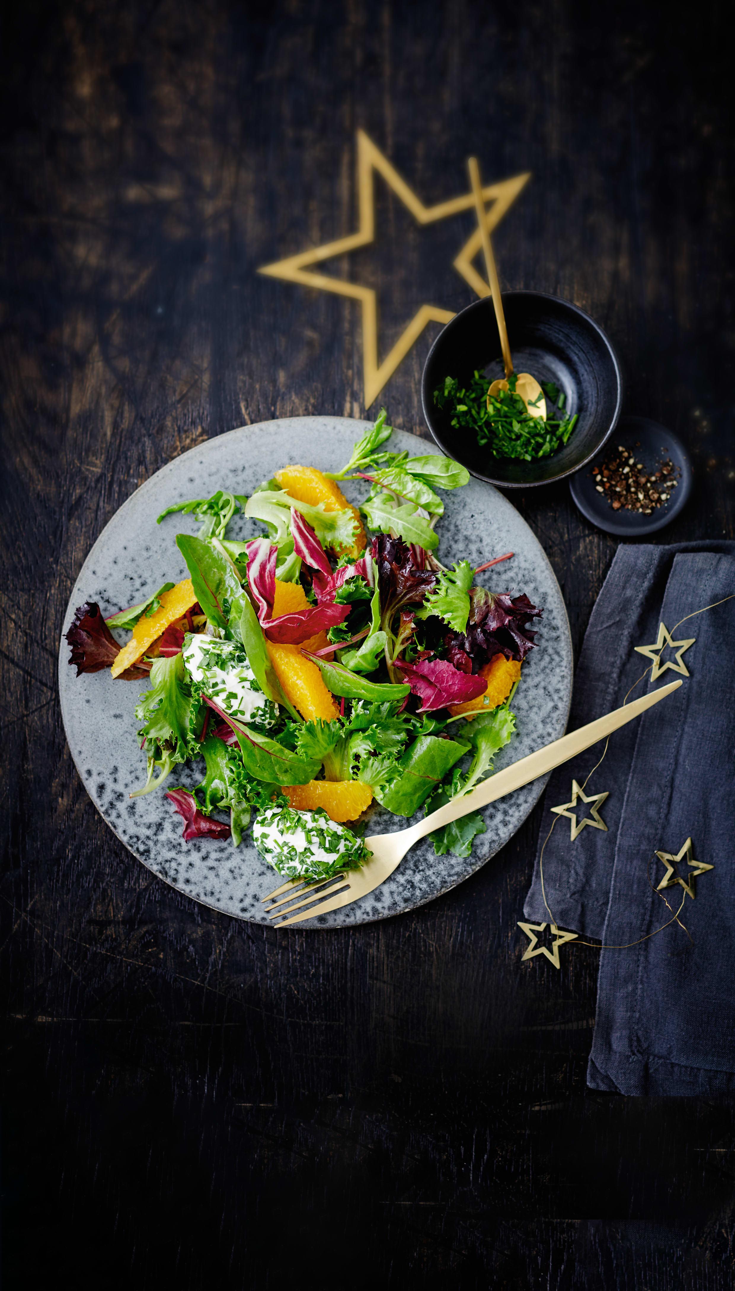 Photo de Salade hivernale aux boulettes de fromage prise par WW