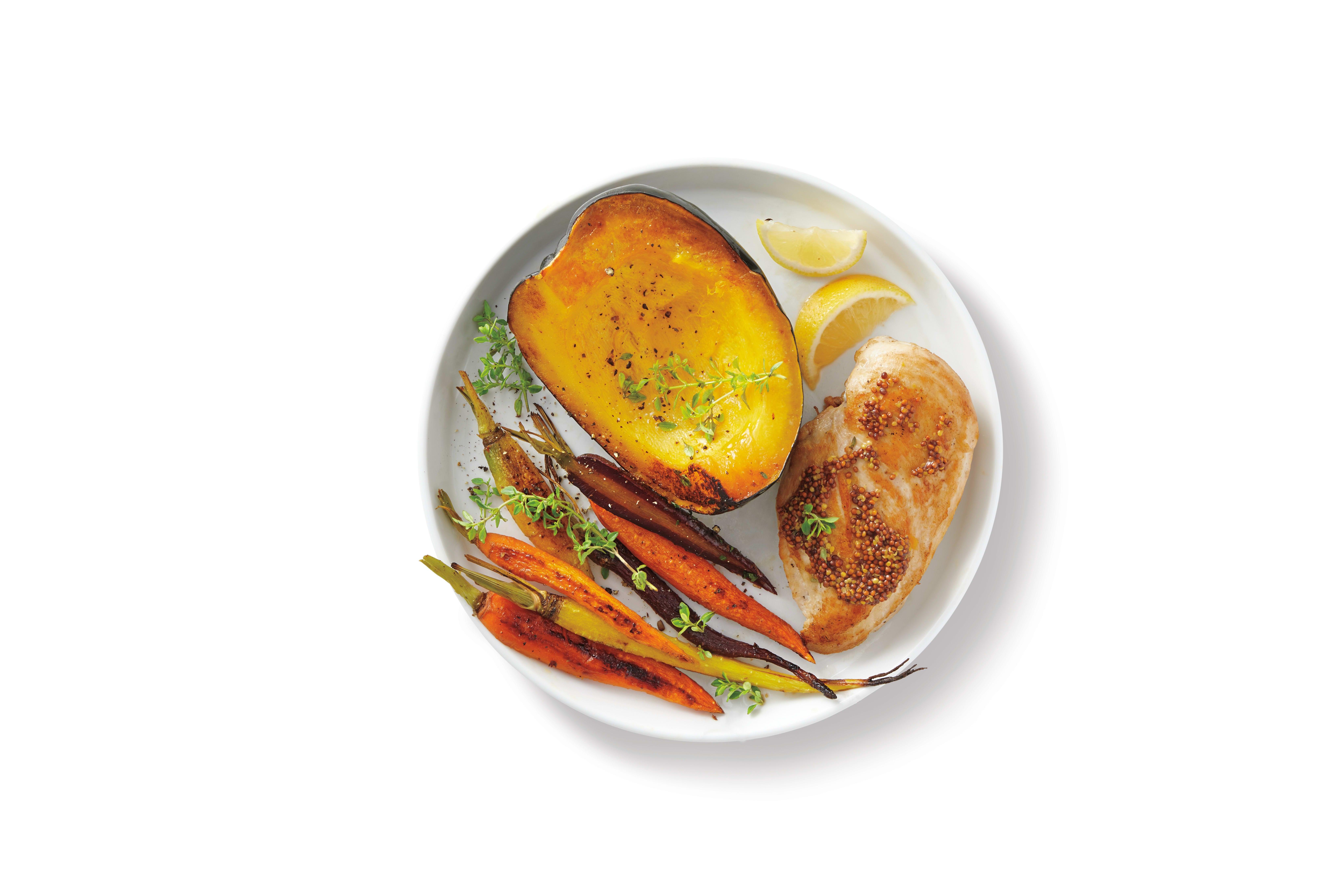 Photo de Filet de poulet grillé au potiron prise par WW