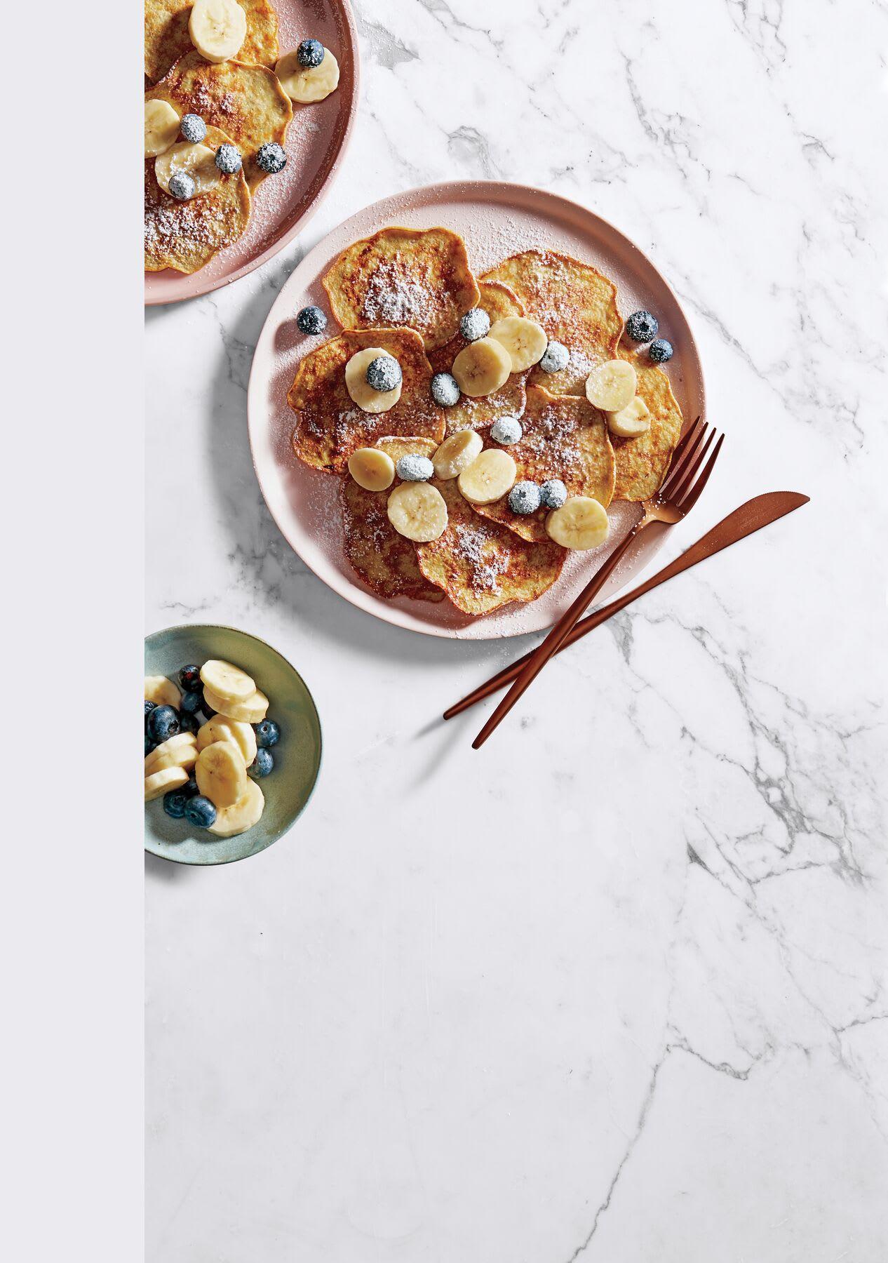 Photo de Pancakes sans farine à la banane prise par WW