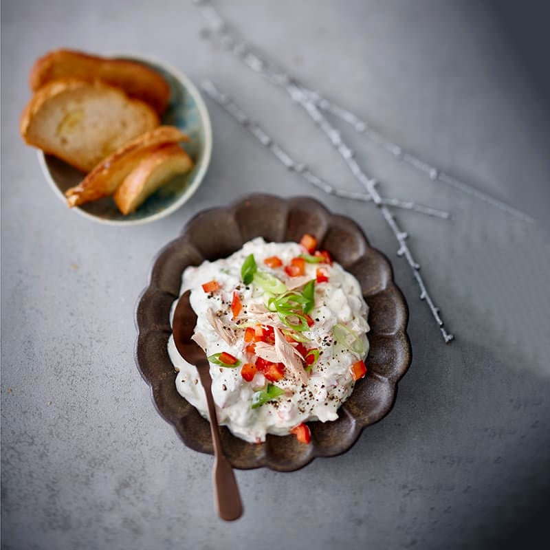 Photo de Sauce au thon et pain grillé prise par WW