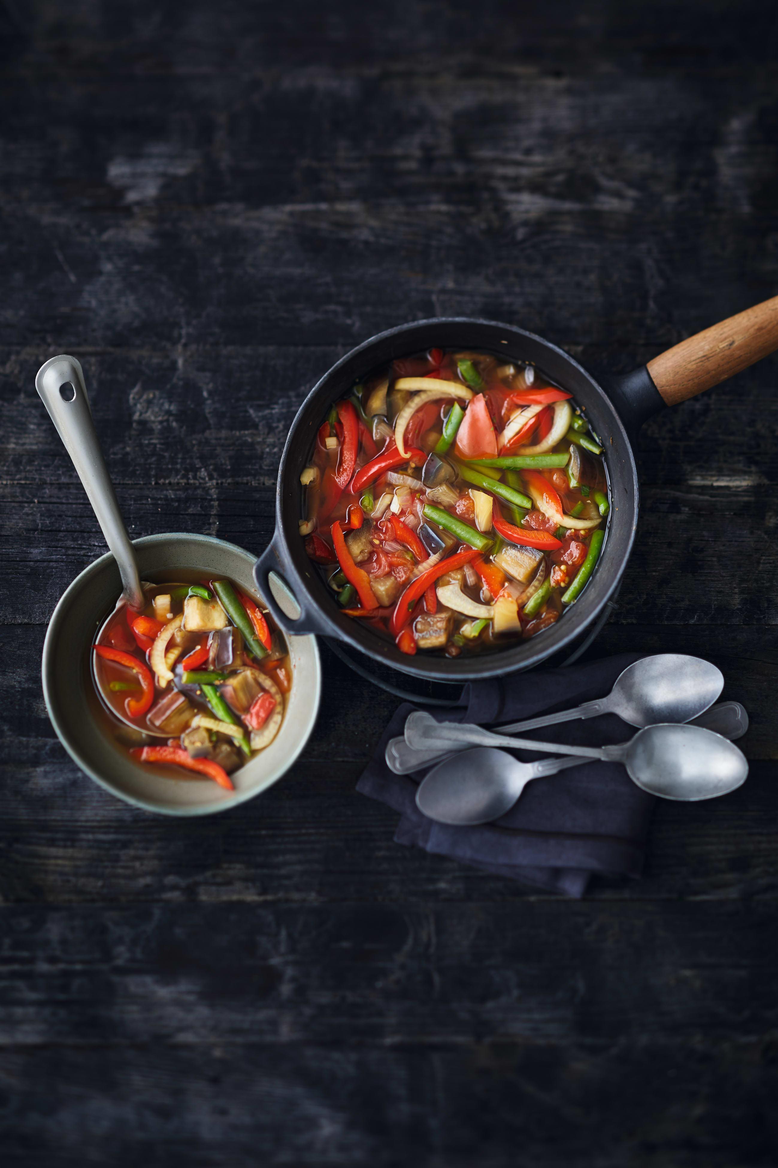 Foto van 0-punten provençaalse groentesoep door WW