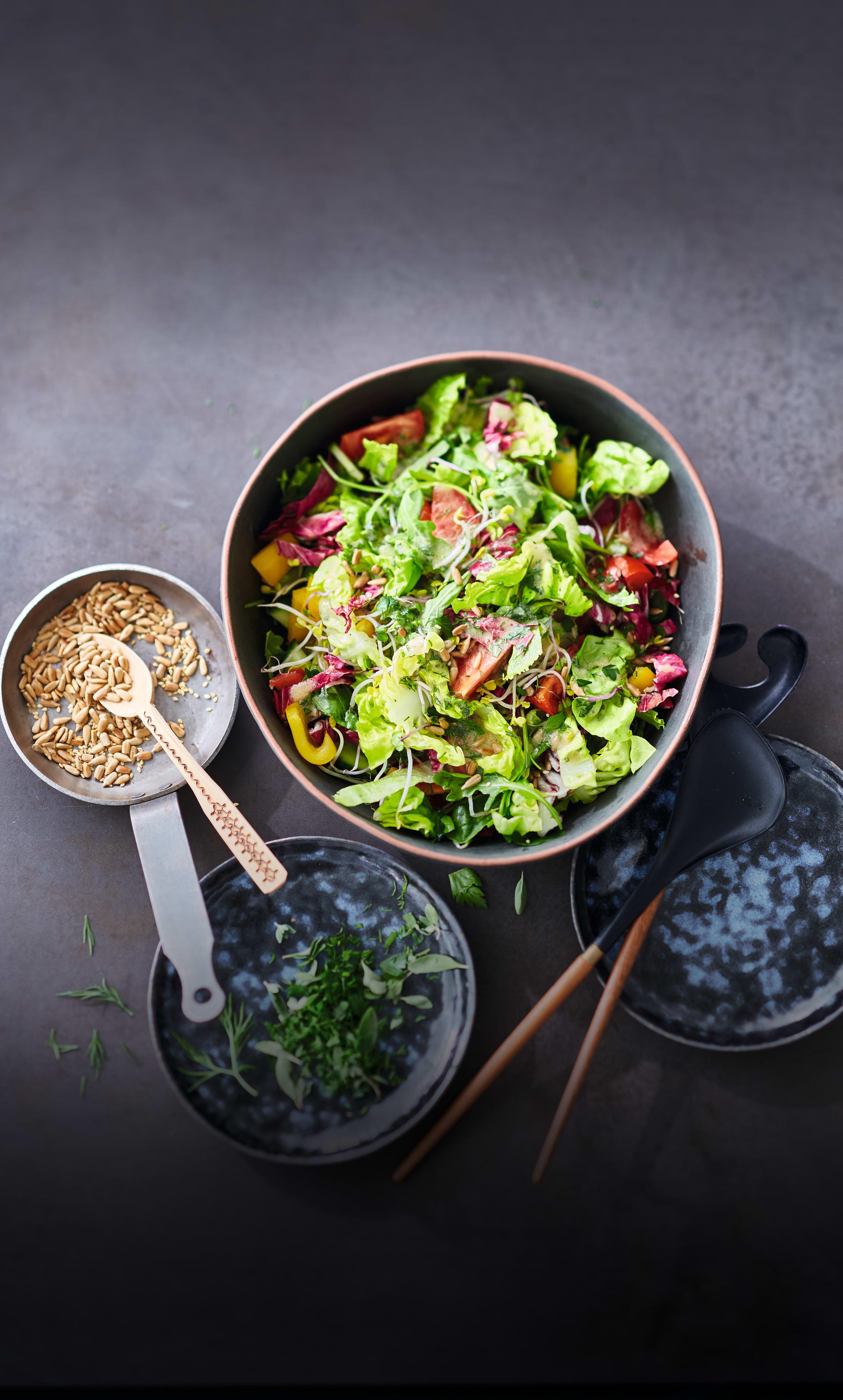 Photo de Salade mixte aux herbes prise par WW