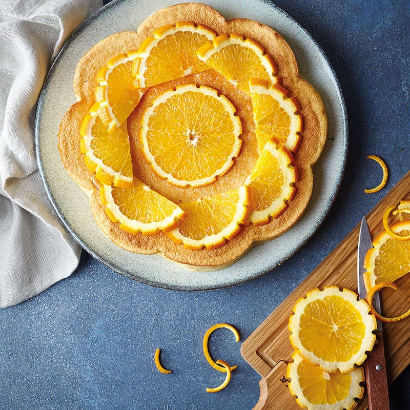 Foto van Sinaasappeltaart met amandel door WW