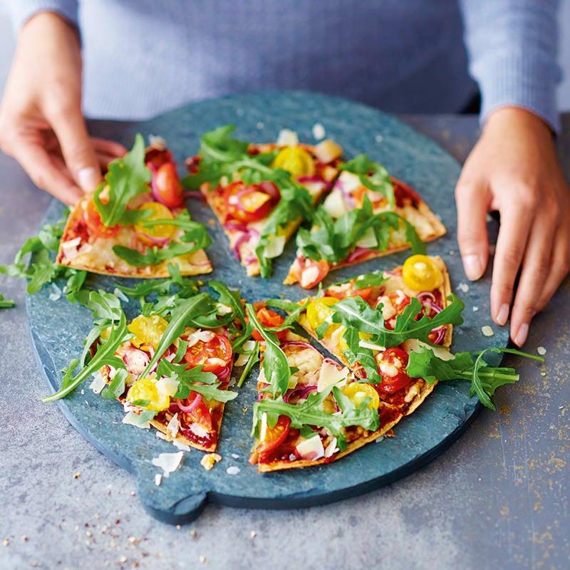 Foto van Snelle pizza door WW