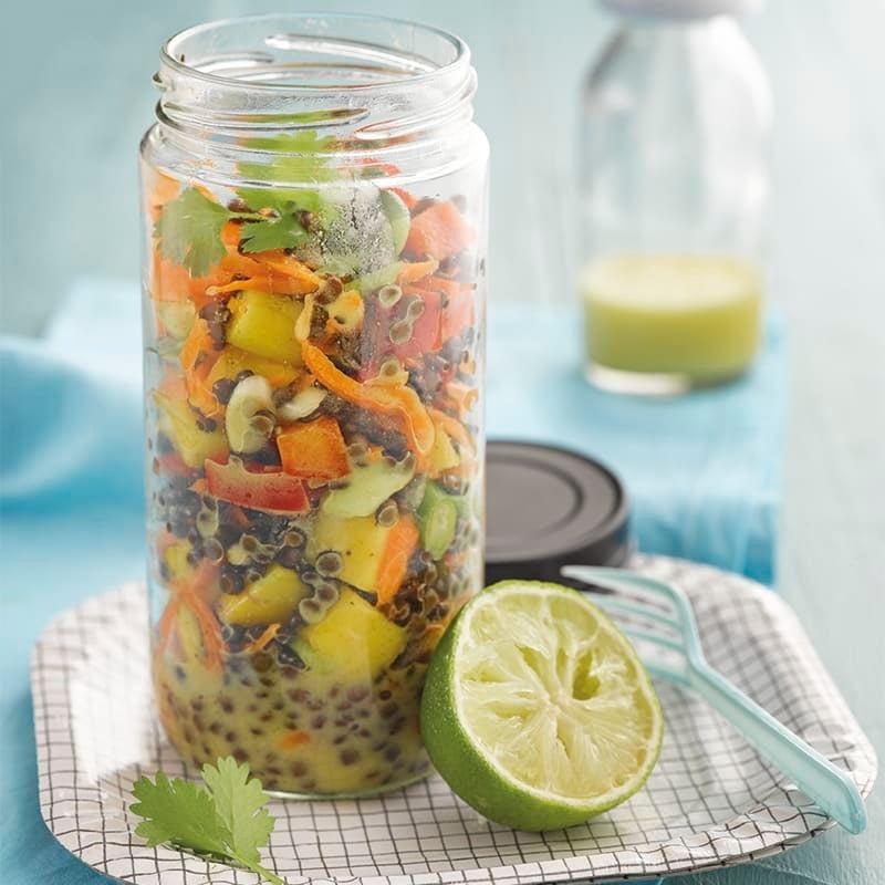 Photo de Salade de lentilles fruitée prise par WW