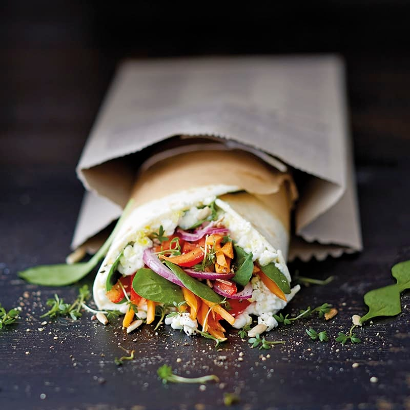 Foto van Veggie-wrap door WW