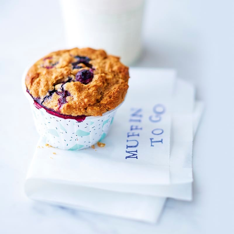 Photo de Muffins aux myrtilles et au muesli prise par WW