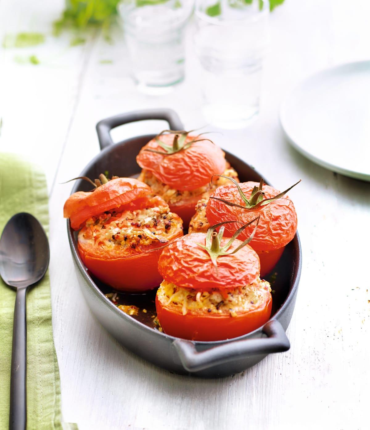 Foto van Tomaten gevuld met quinoa en tofu door WW