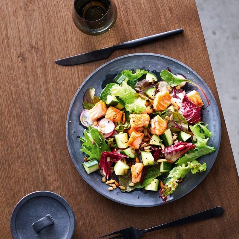Photo de Salade mixte au saumon prise par WW