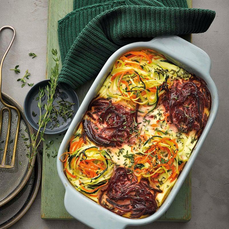 Foto van Kleurrijke ovenschotel met groentepasta door WW