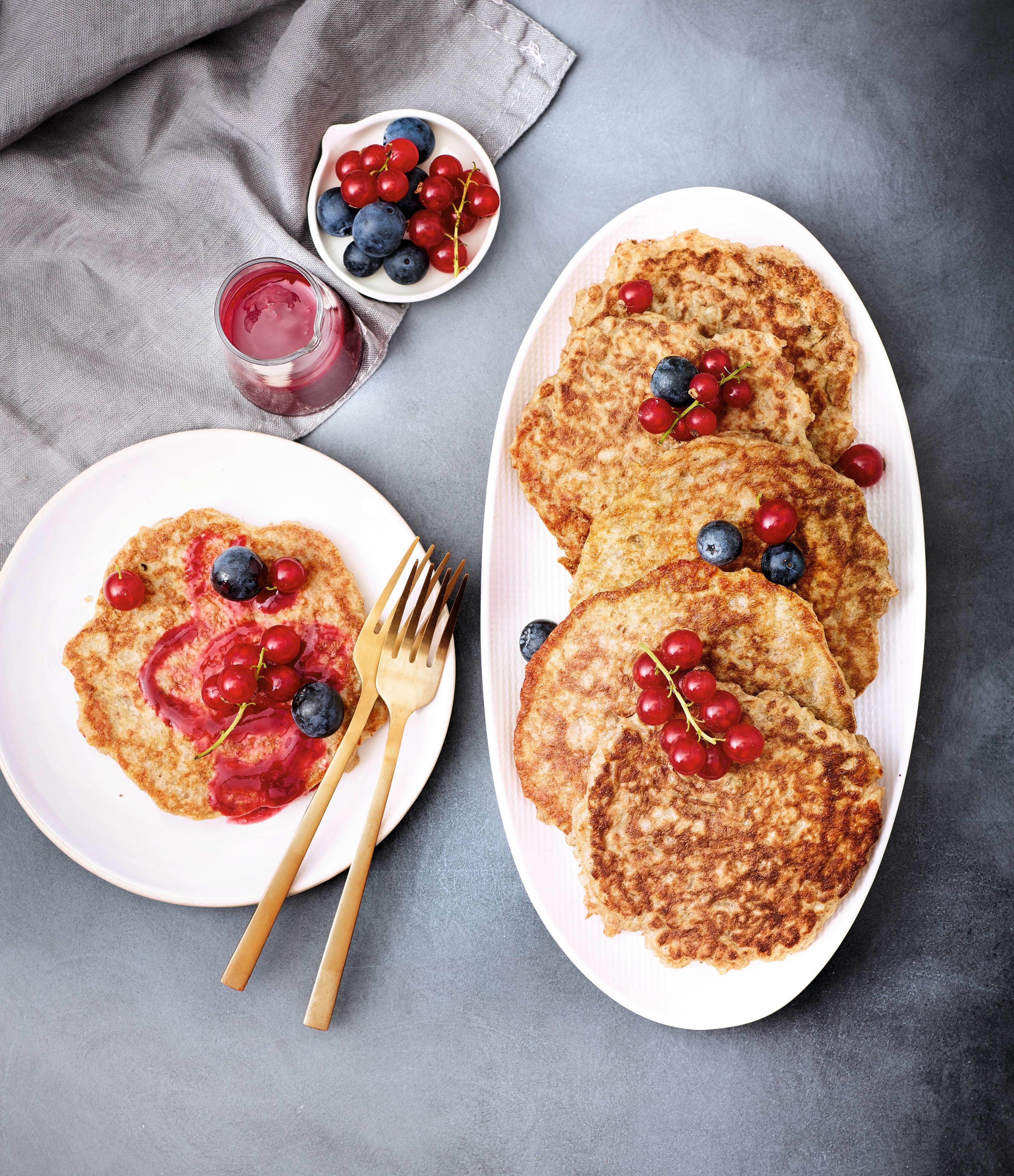 Photo de Pancakes aux flocons de riz prise par WW
