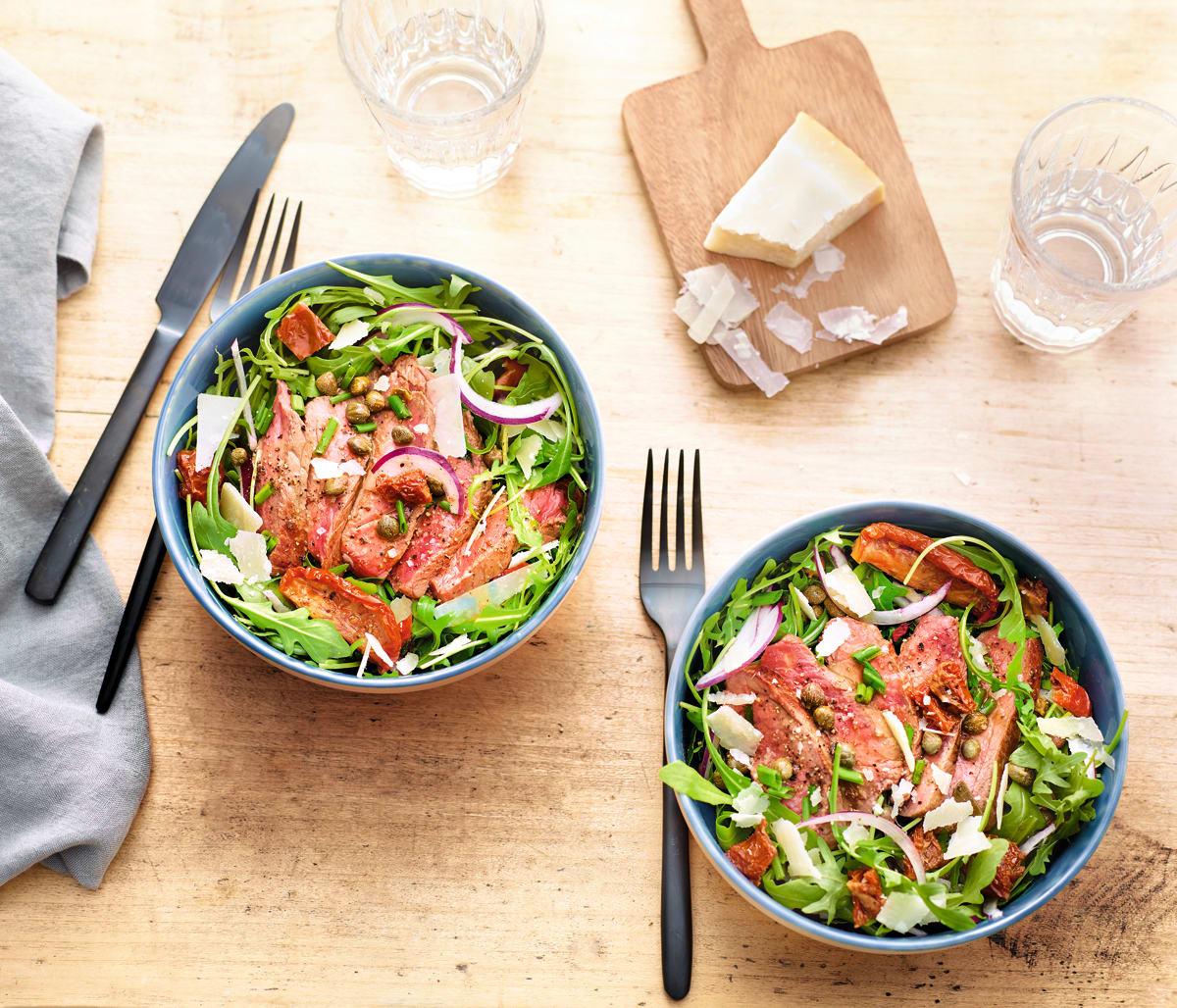 Photo de Salade de bœuf aux câpres prise par WW