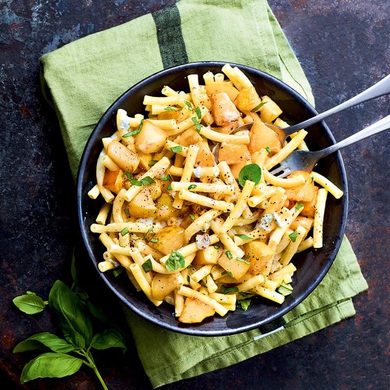 Foto van Macaroni met peer en gorgonzola door WW