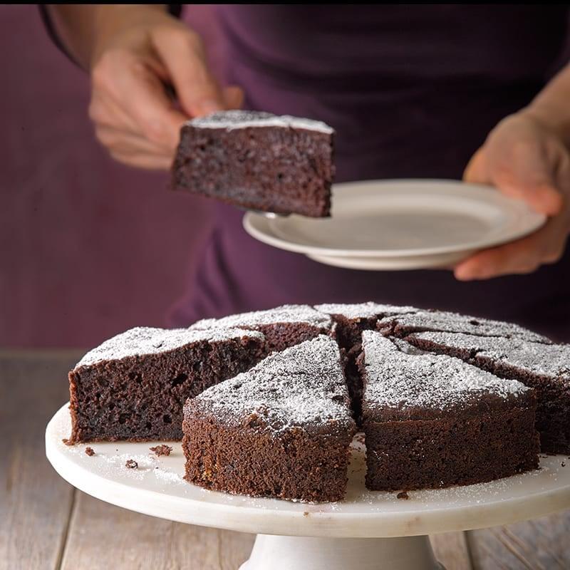 Foto van Smeuïge chocoladetaart met rode biet door WW
