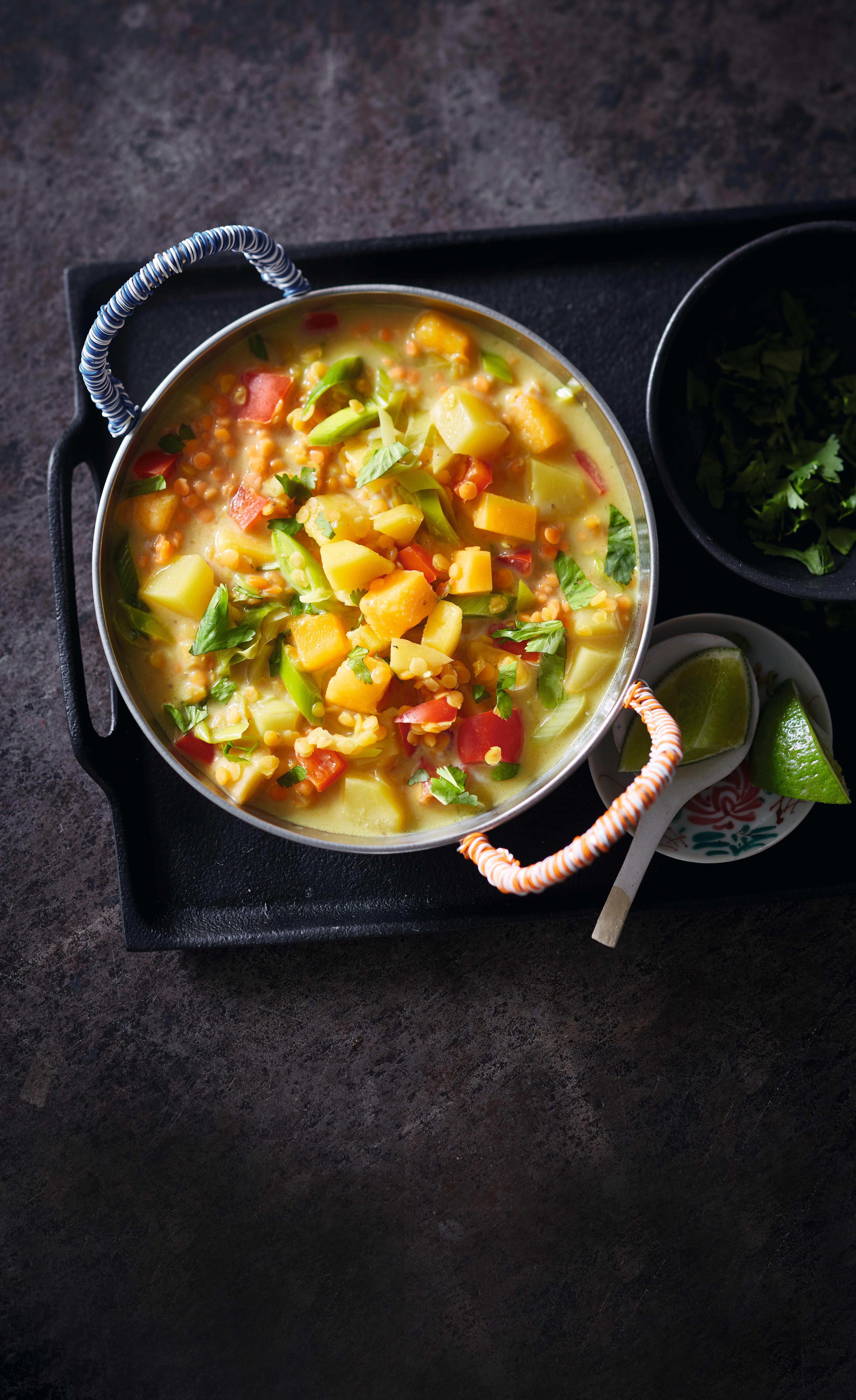 Photo de Curry de lentiles prise par WW
