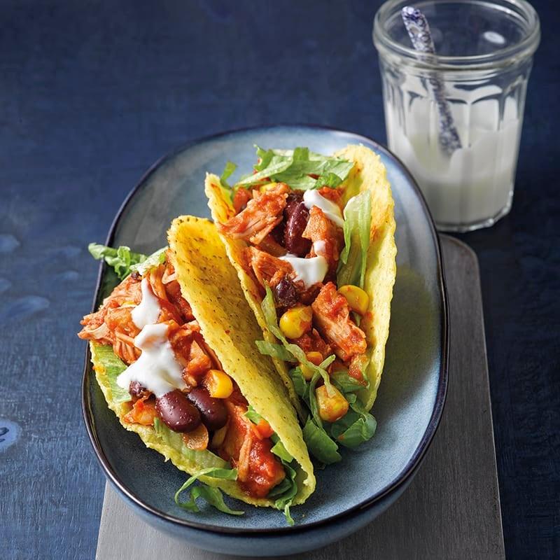 Foto van Taco's met pulled jackfruit door WW