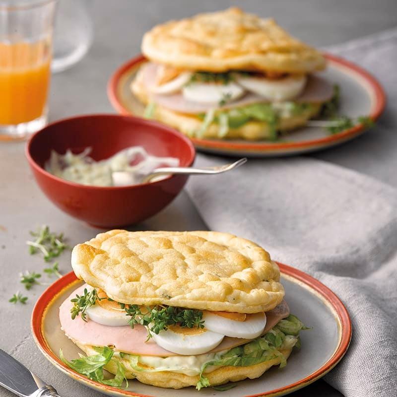 Foto van Sandwich met ei Het Zeropoint kookboek door WW