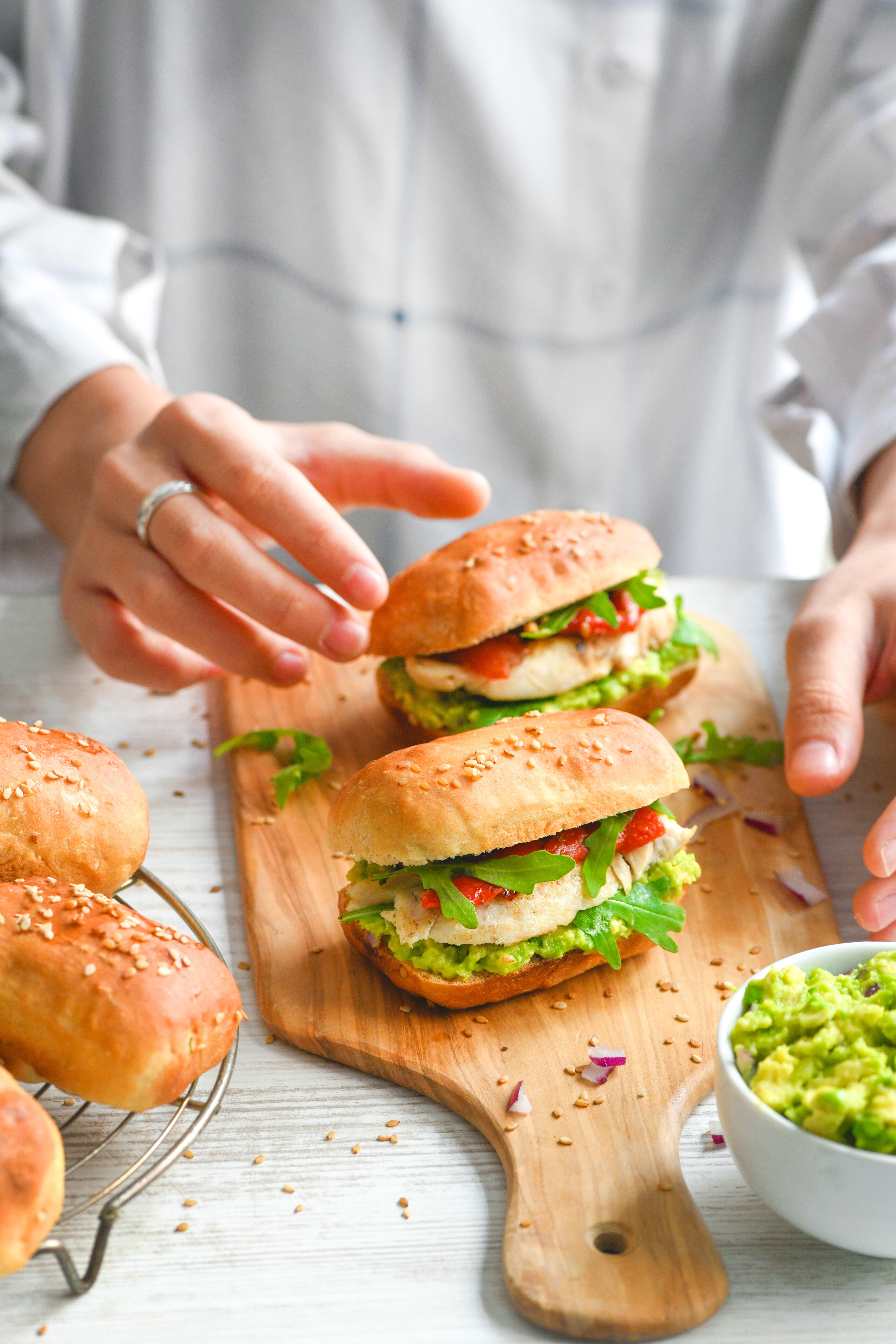 Photo de Petits pains à Hamburgers prise par WW