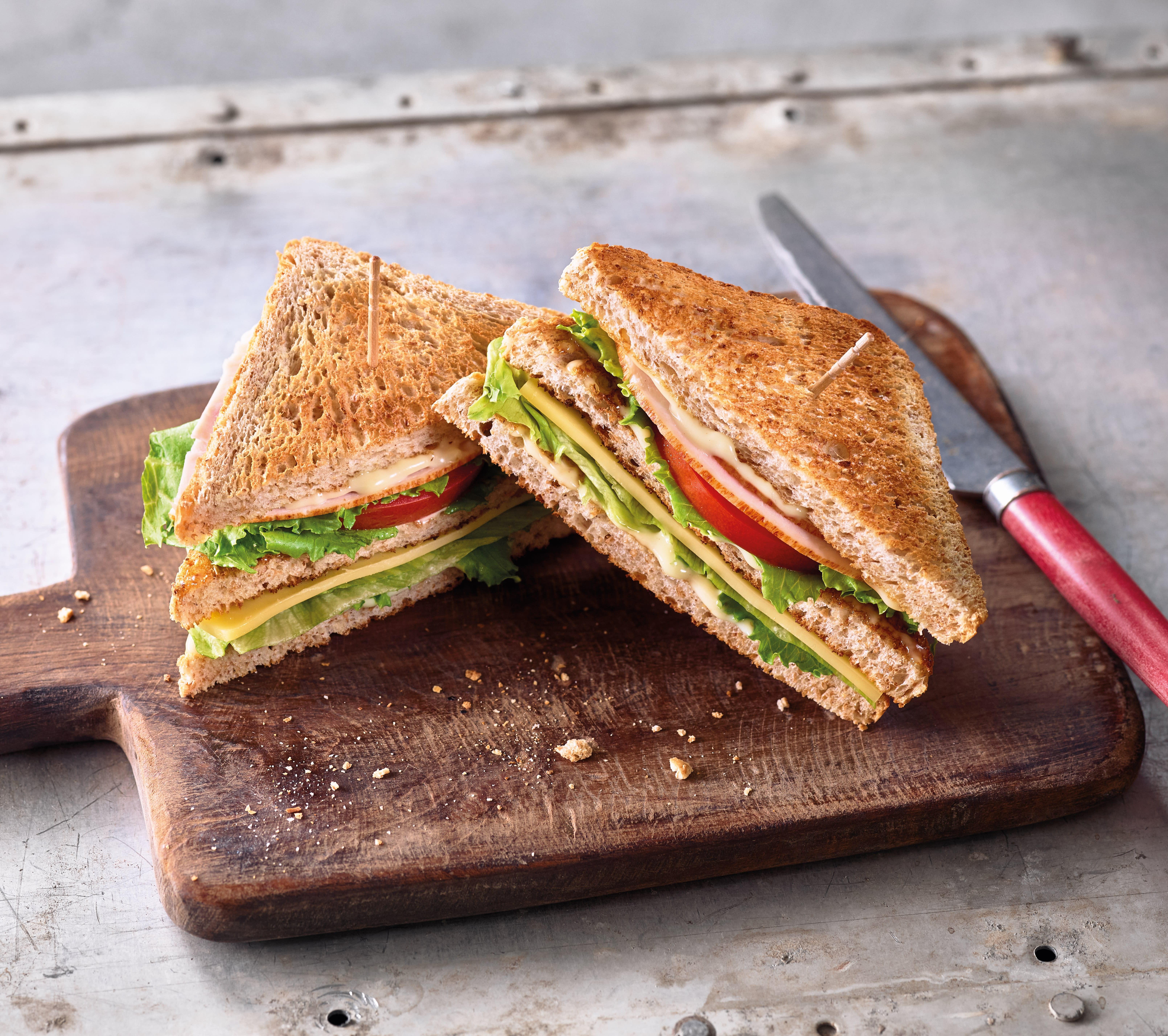 Foto van Club sandwich door WW