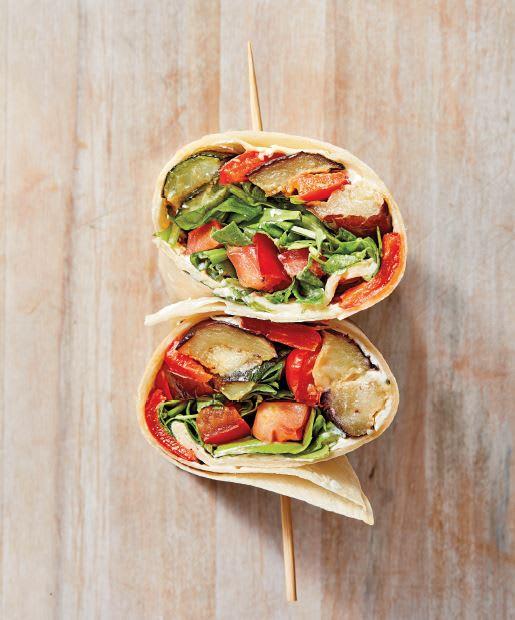Photo de Wraps de légumes grillés prise par WW