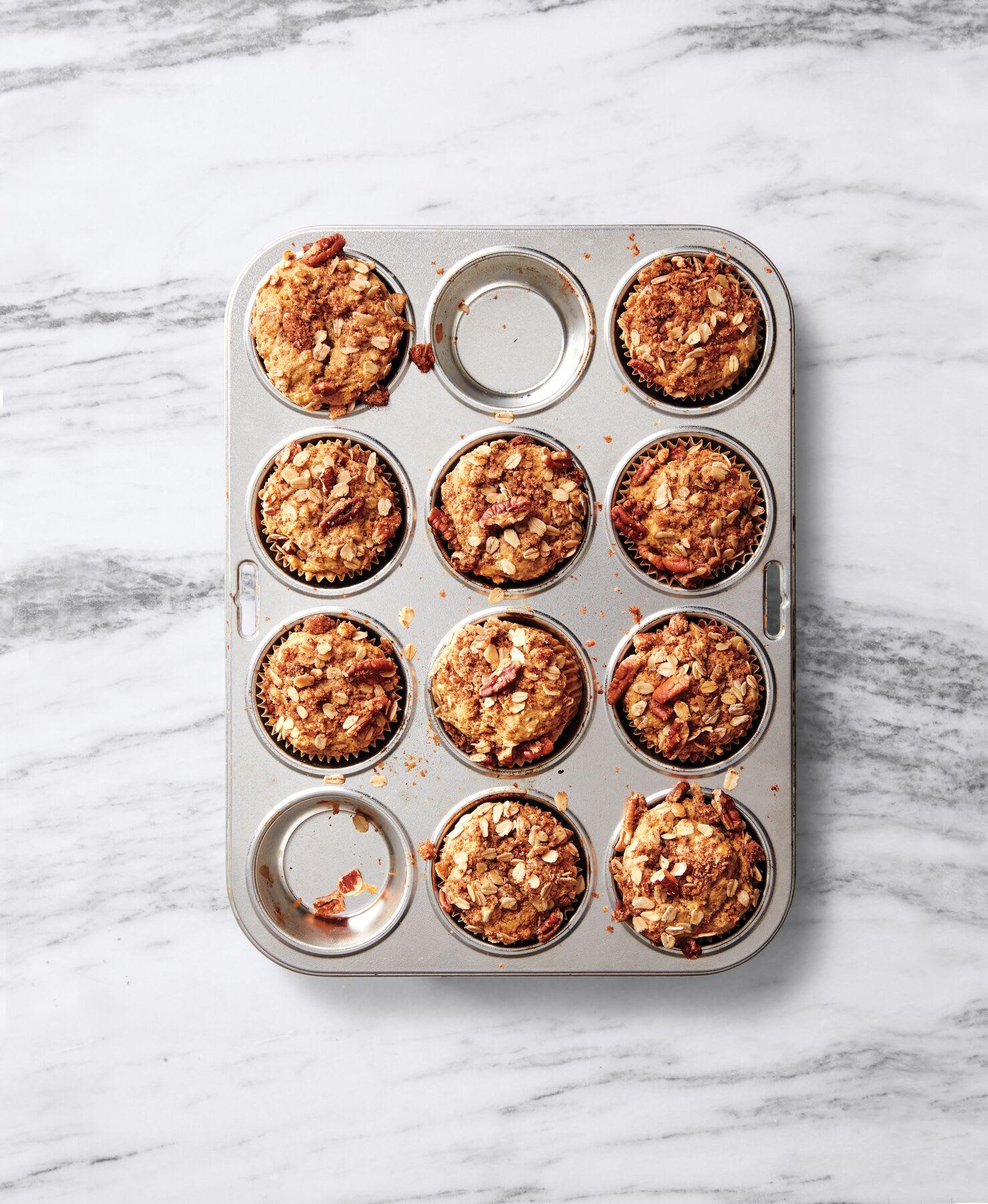 Photo de Muffins de patate douce et crumble prise par WW