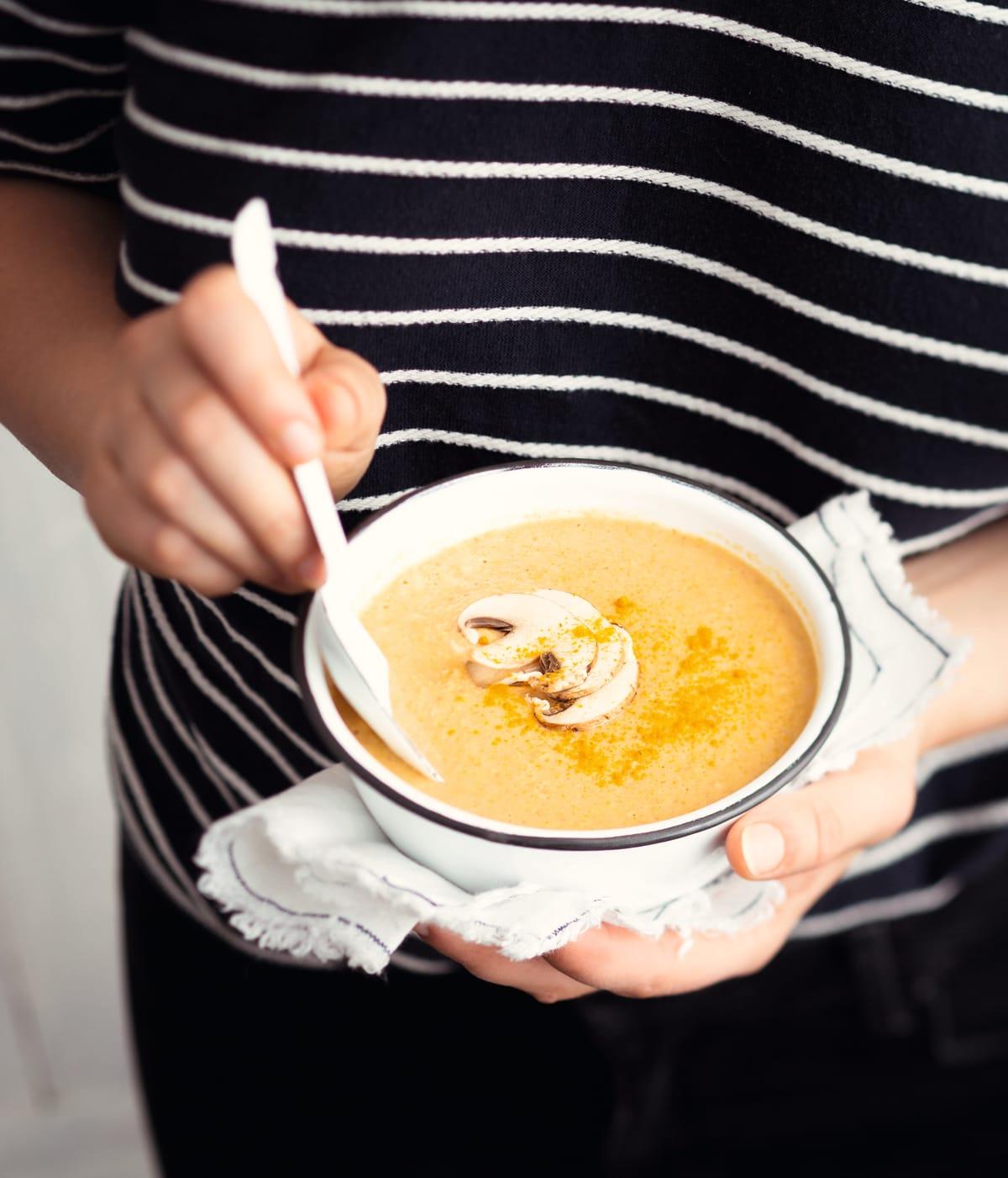 Photo de Crème de maïs au fromage fondu prise par WW