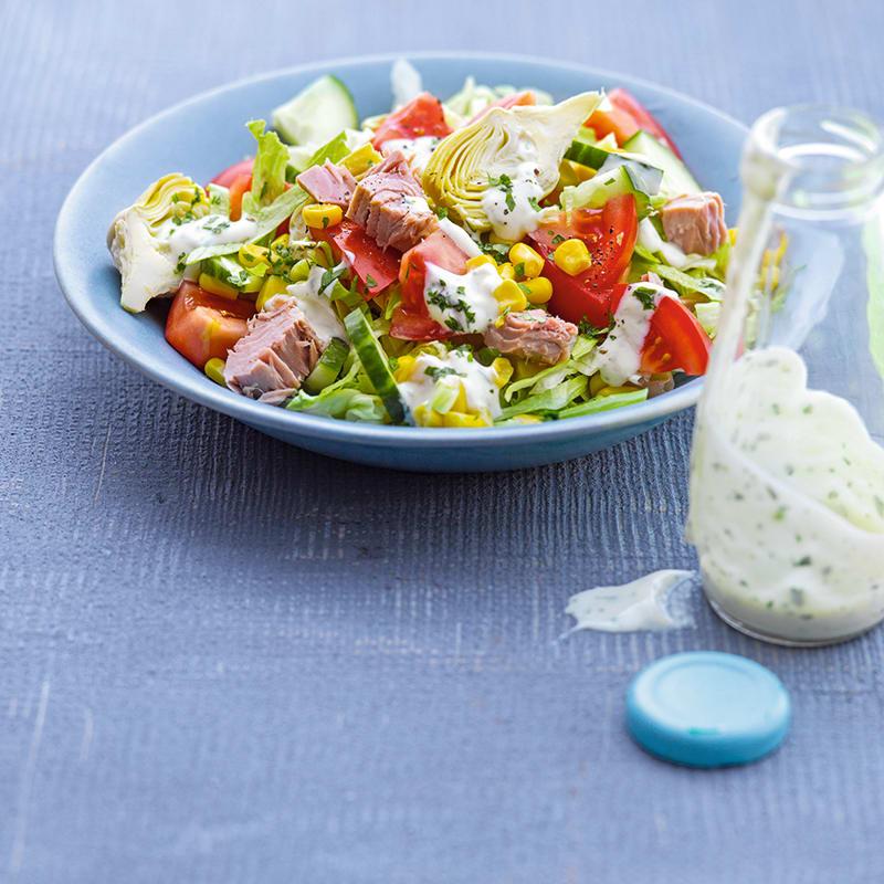 Photo de Salade de thon et coeurs d'artichaut prise par WW