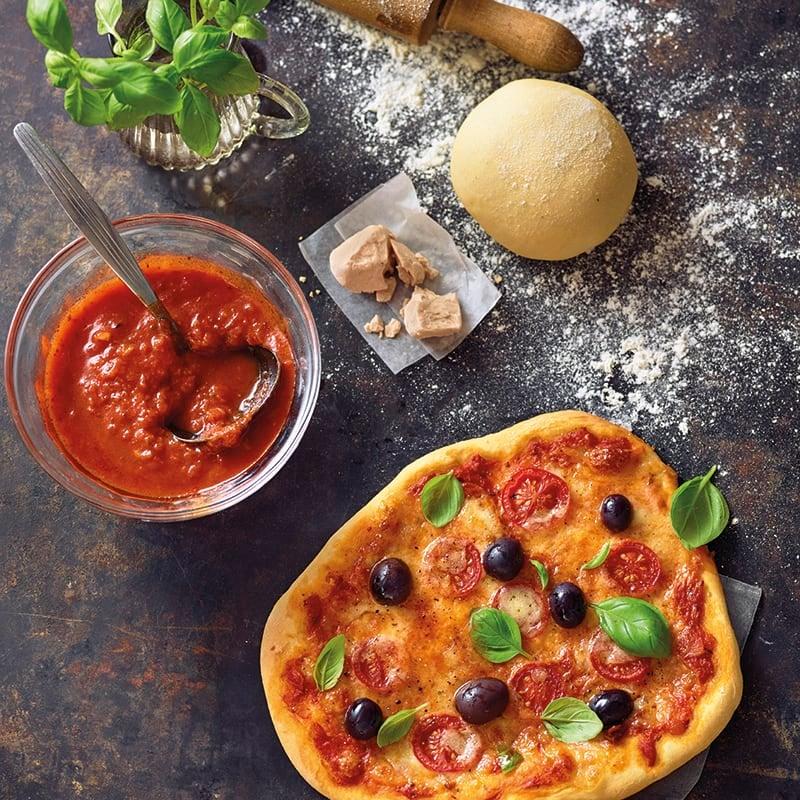 Foto van Zelfgemaakt pizzadeeg door WW