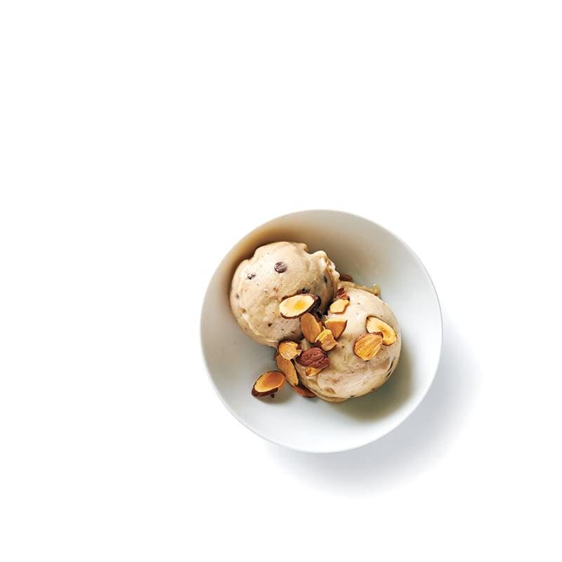 Photo de Nice cream au chocolat et aux amandes prise par WW