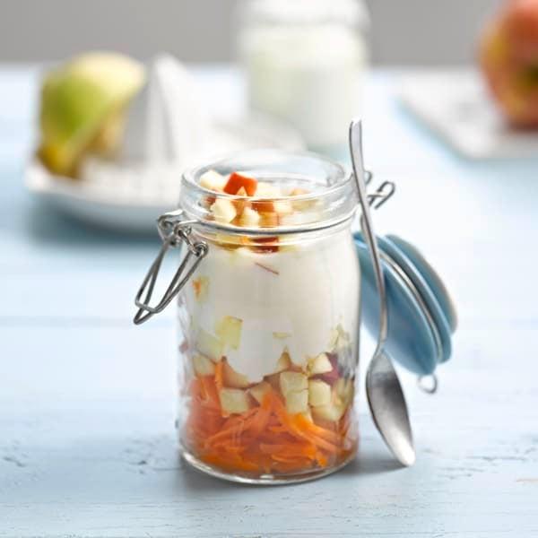 Foto van Yoghurt met wortel, appel en citroensap door WW