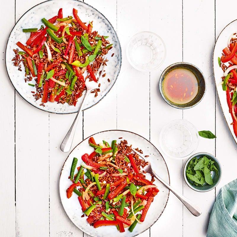 Foto van Rode rijstsalade door WW