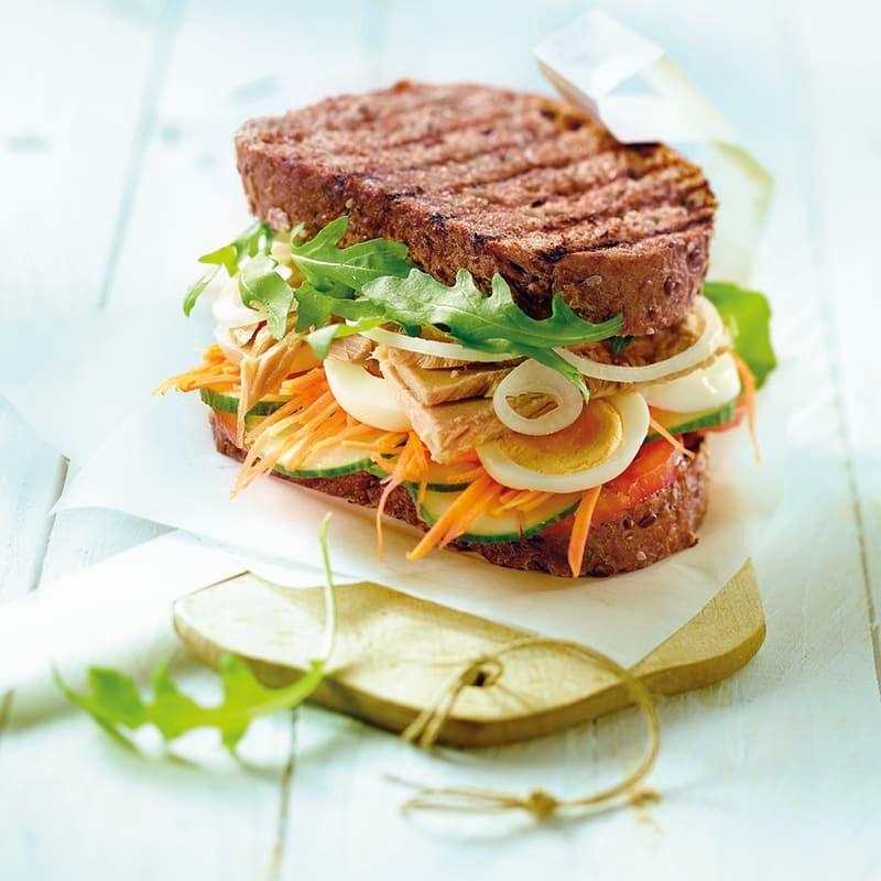 Foto van Smos groenten en tonijn door WW
