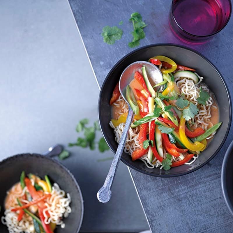 Photo de Curry thaï express aux nouilles prise par WW