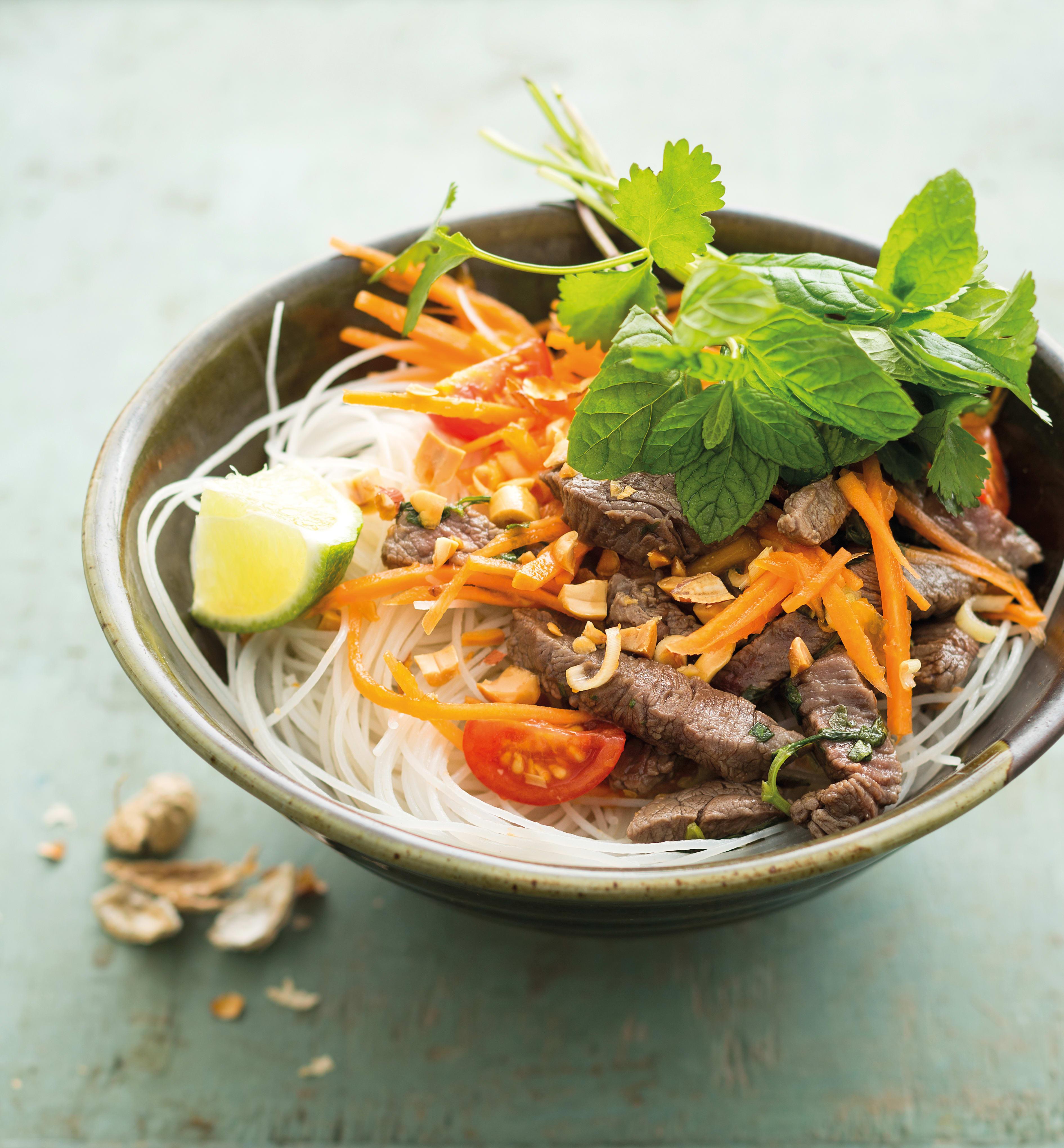 Photo de Salade de boeuf thaï prise par WW
