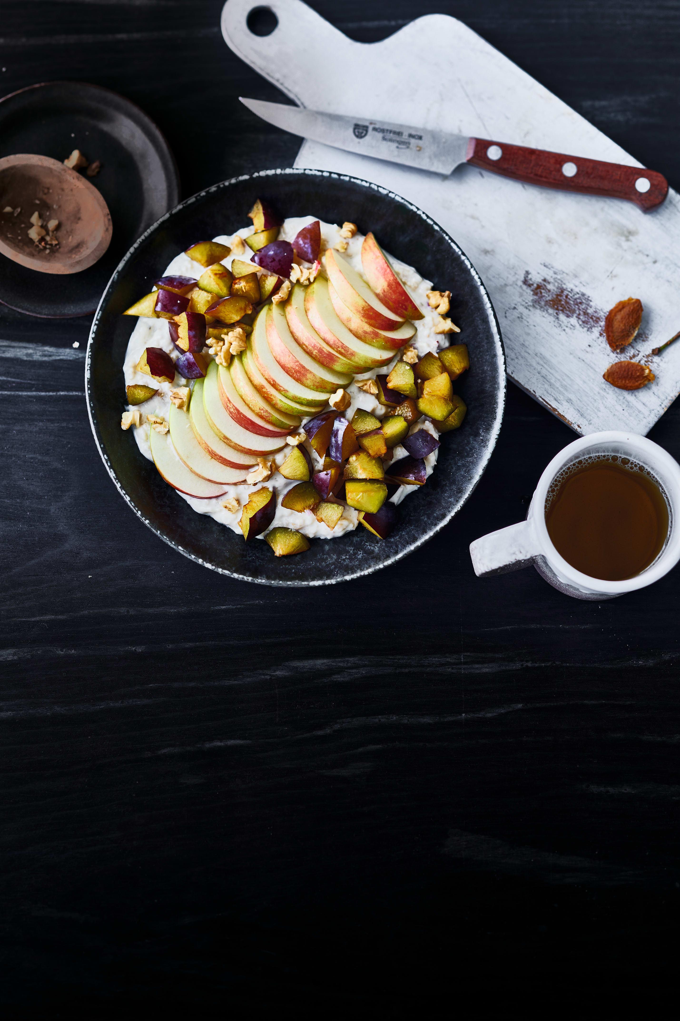 Photo de Panade d'avoine, pommes et noix prise par WW