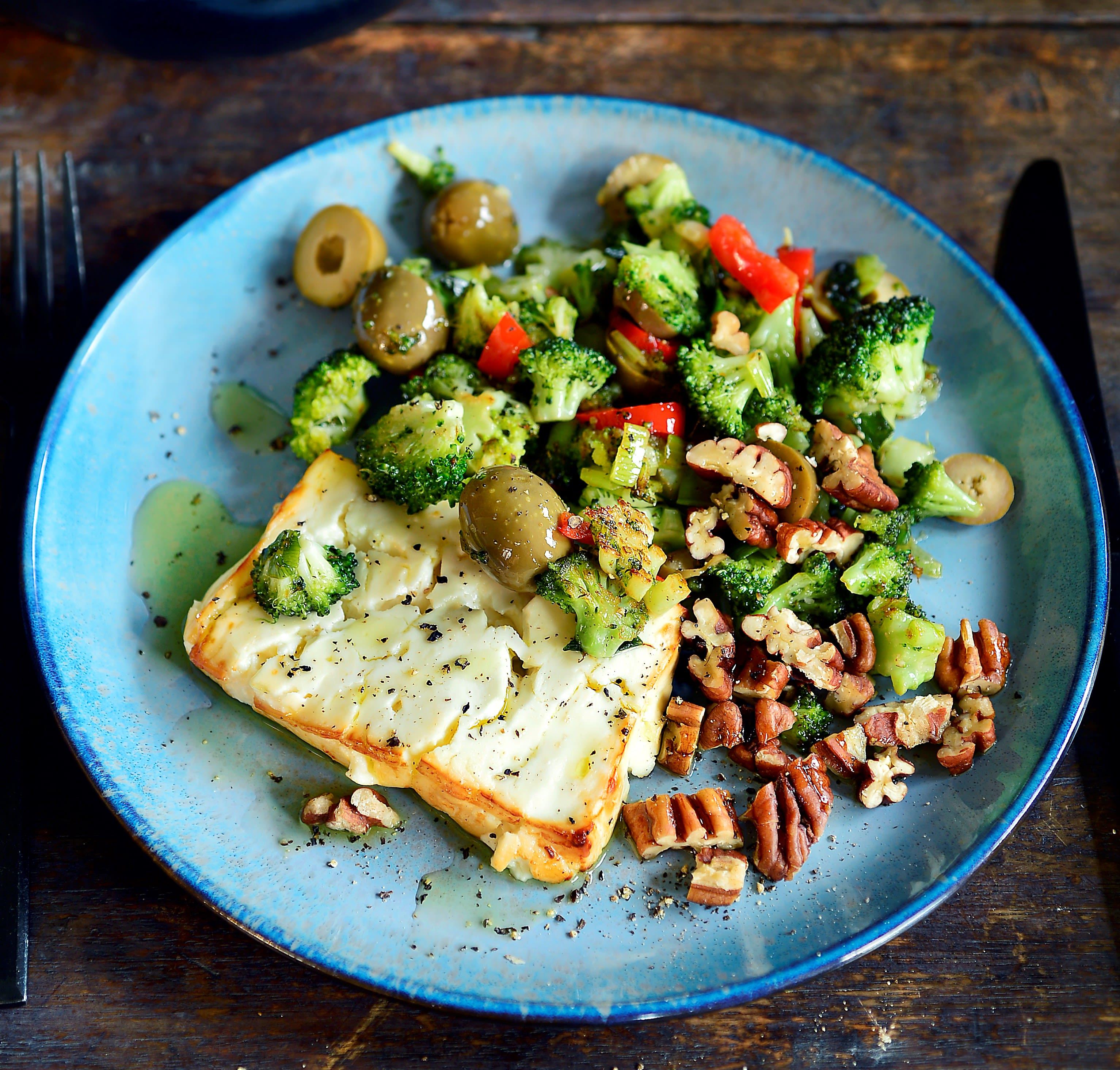 Photo de Pascale Naessens' Feta cuite aux olives prise par WW