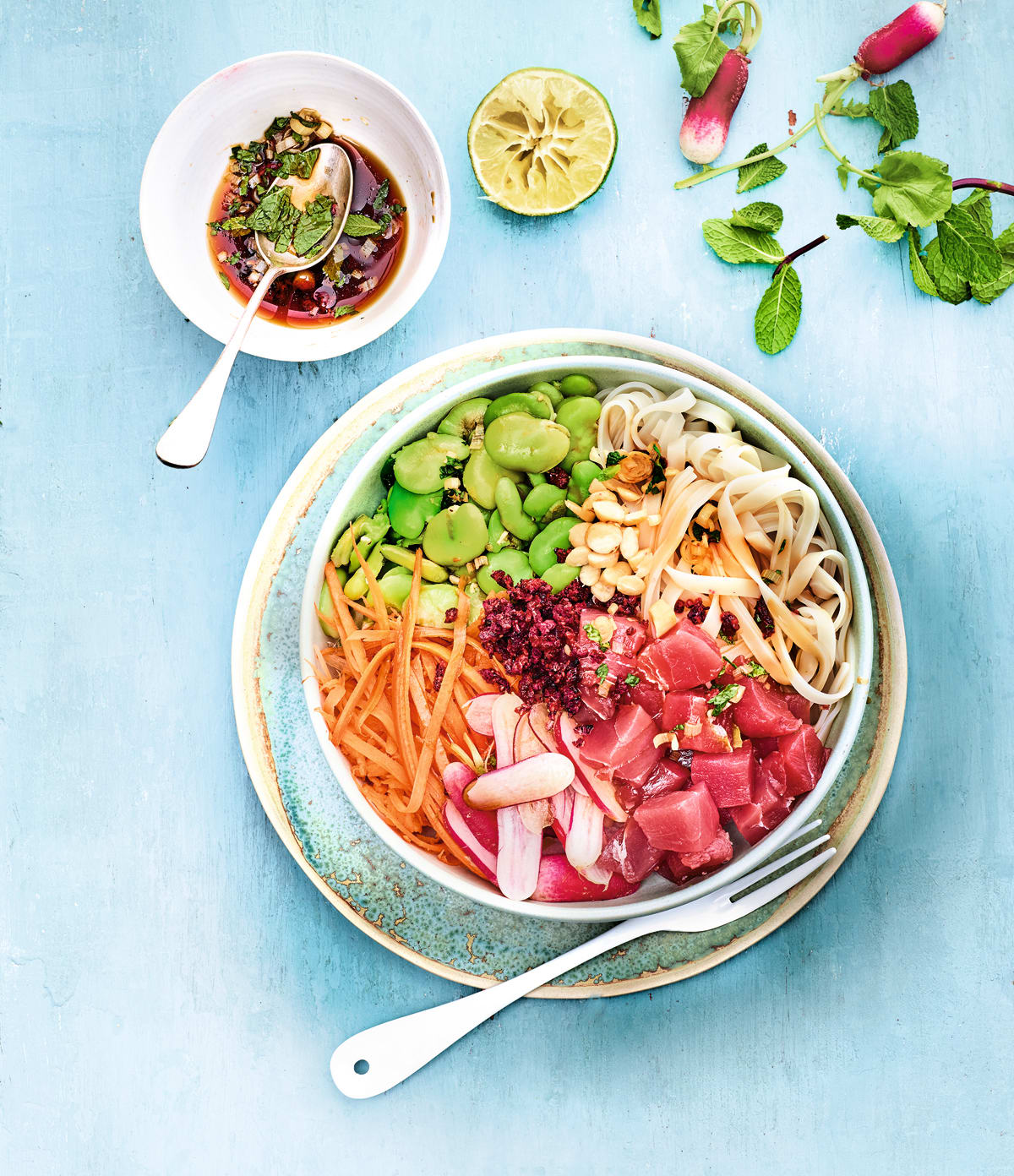 Photo de Poke bowl au thon rouge prise par WW