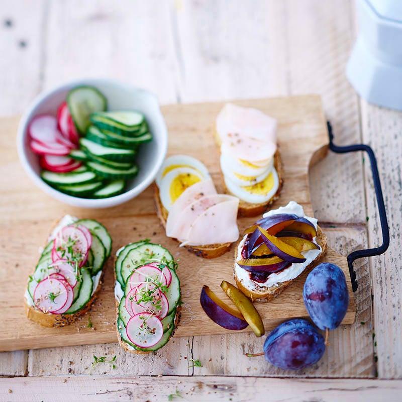 Foto van Kleurrijke broodjes door WW