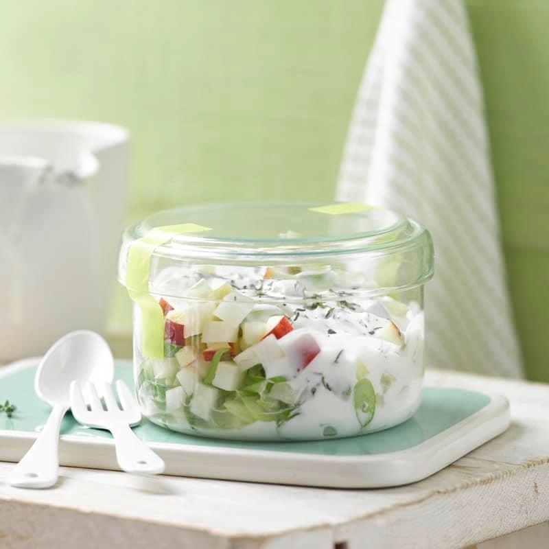 Photo de Salade de pommes et chou-rave avec une vinaigrette au thym prise par WW