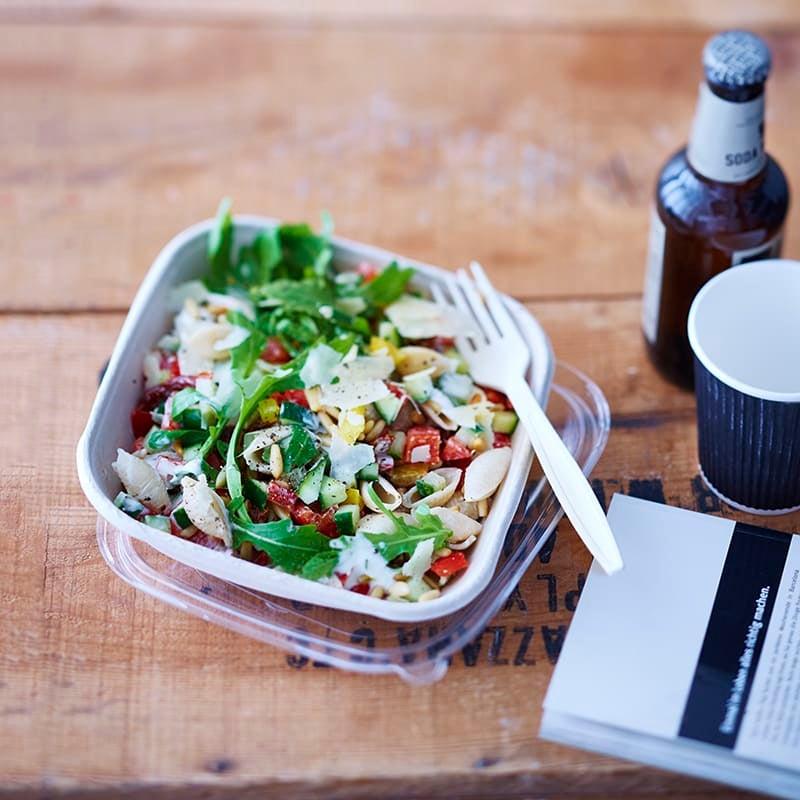 Photo de Salade de pâtes au parmesan prise par WW