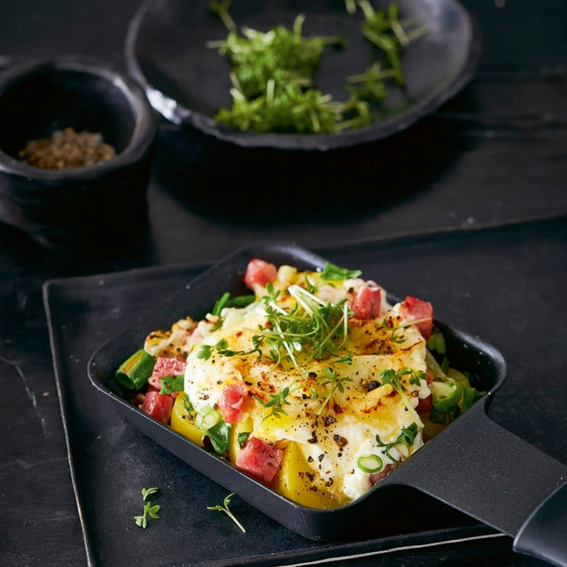 Photo de Raclette aux pommes de terre prise par WW