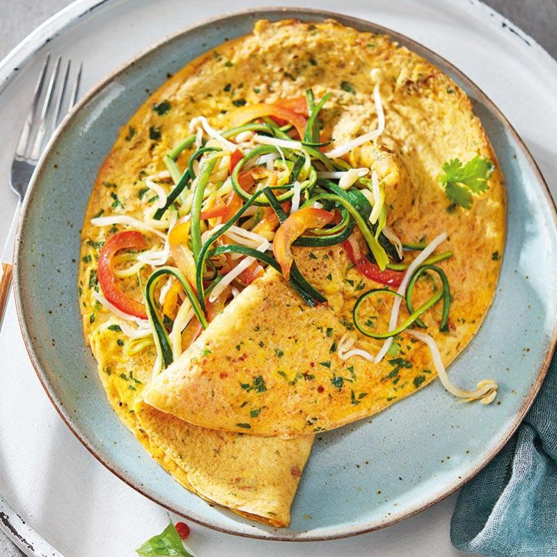 Foto van Aziatische omelet door WW
