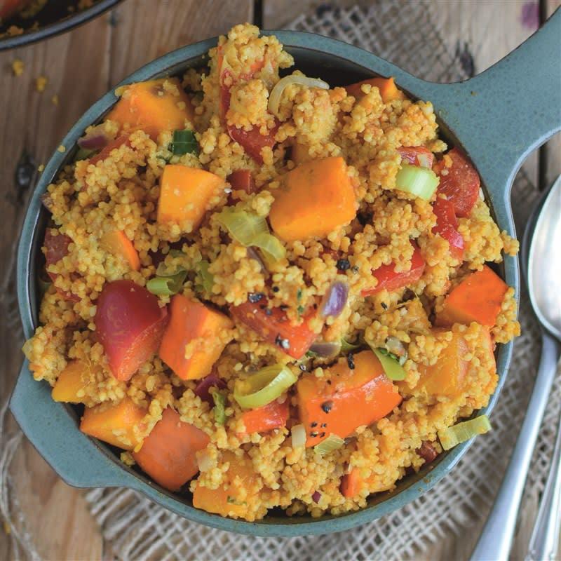 Foto van Pompoencurry met couscous door WW