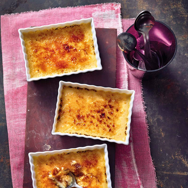 Foto van Crème brûlée door WW