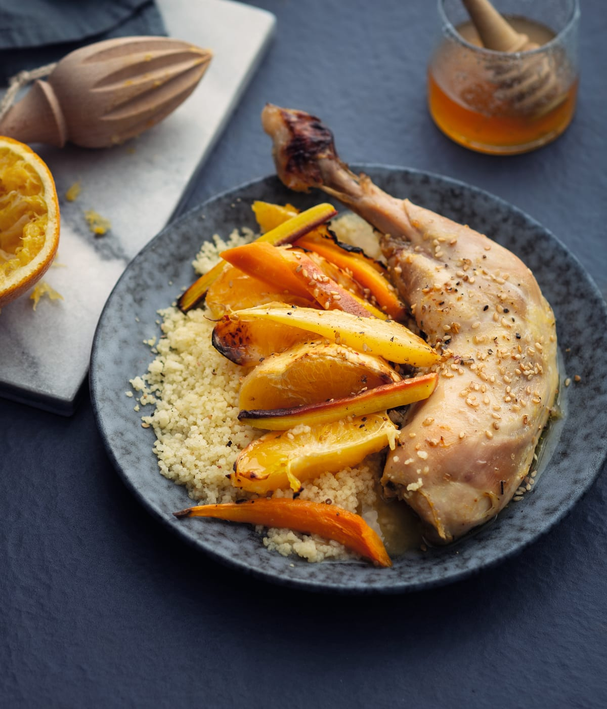 Photo de Cuisses de poulet miel-orange prise par WW