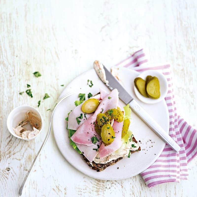Photo de Tartine au jambon cuit prise par WW