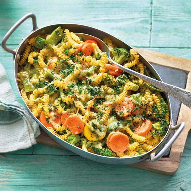 Foto van Eenvoudige groente-ovenschotel met pasta door WW