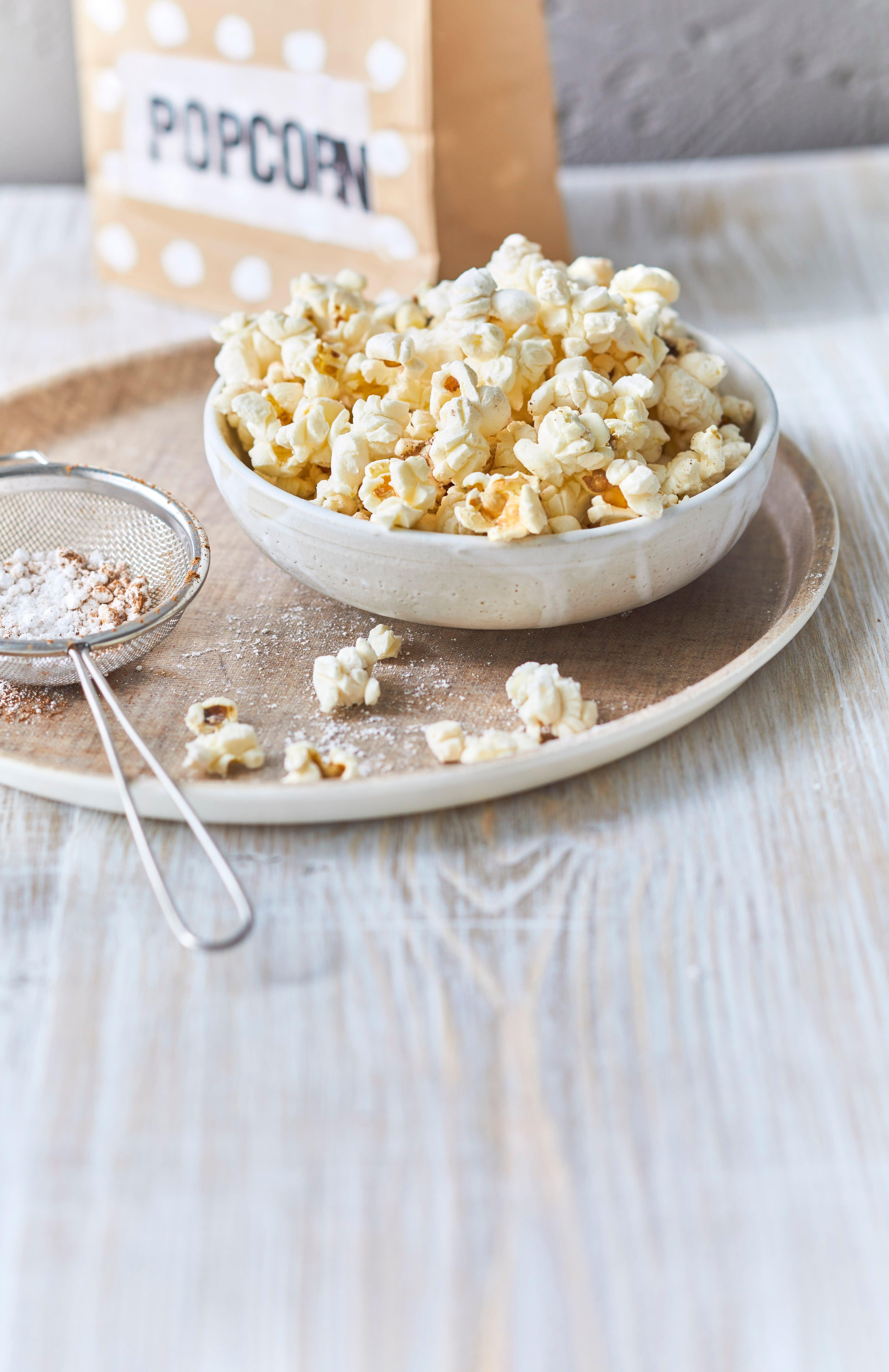 Foto van Zoete popcorn met specerijen door WW