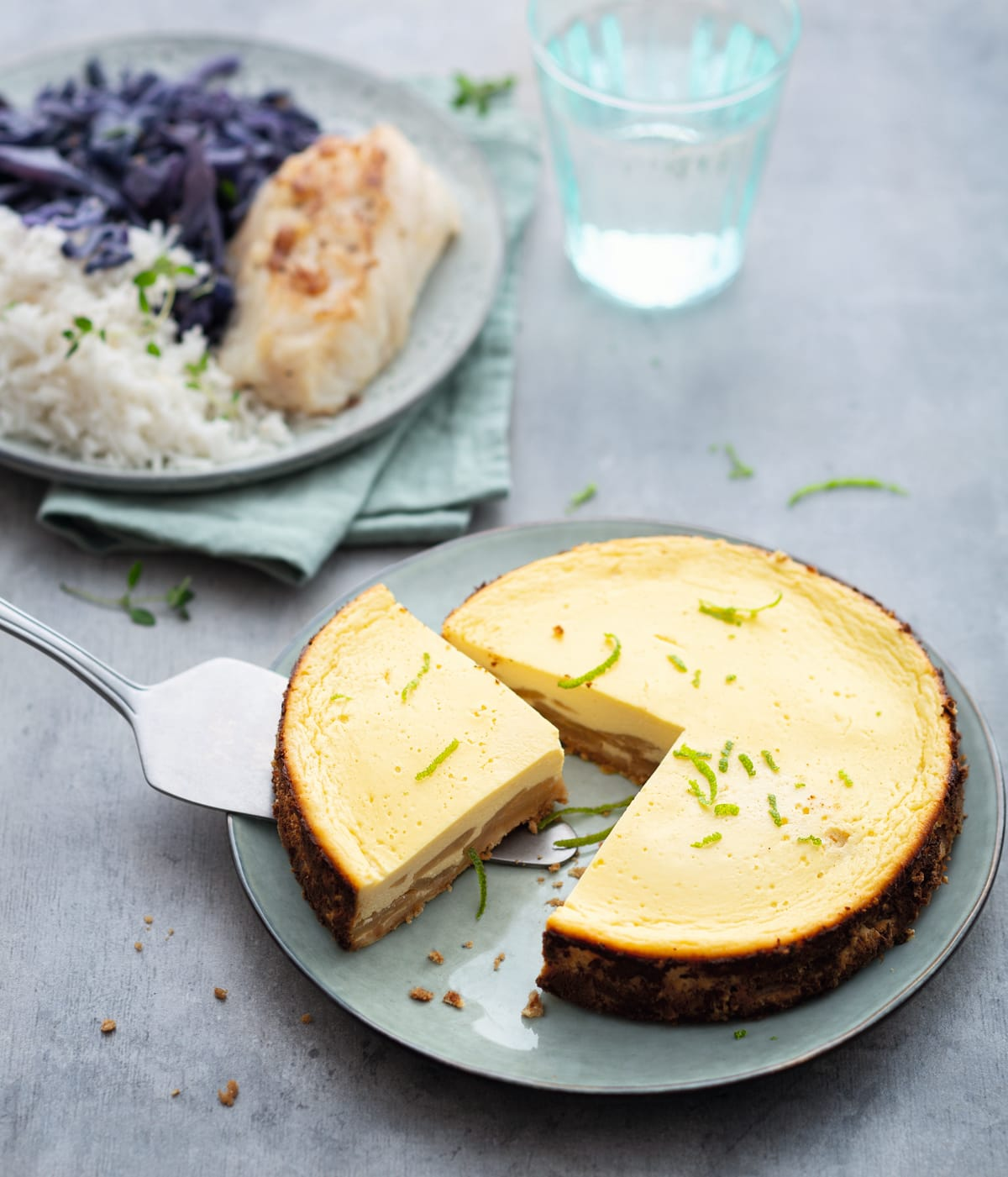 Photo de Cheesecake poire et citron vert prise par WW