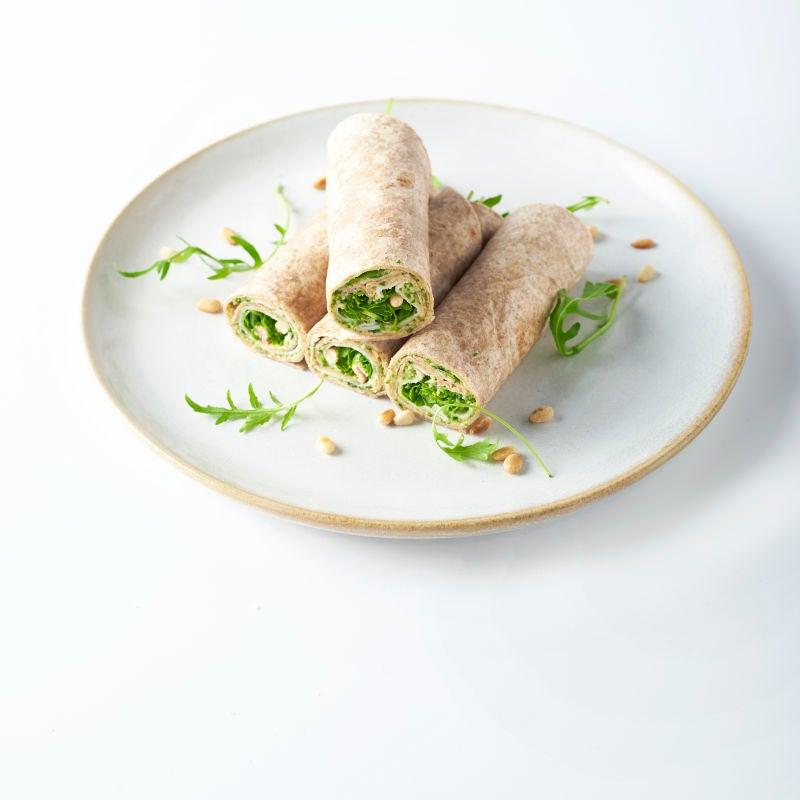 Foto van Wraps met kipfilet en rucolapesto door WW